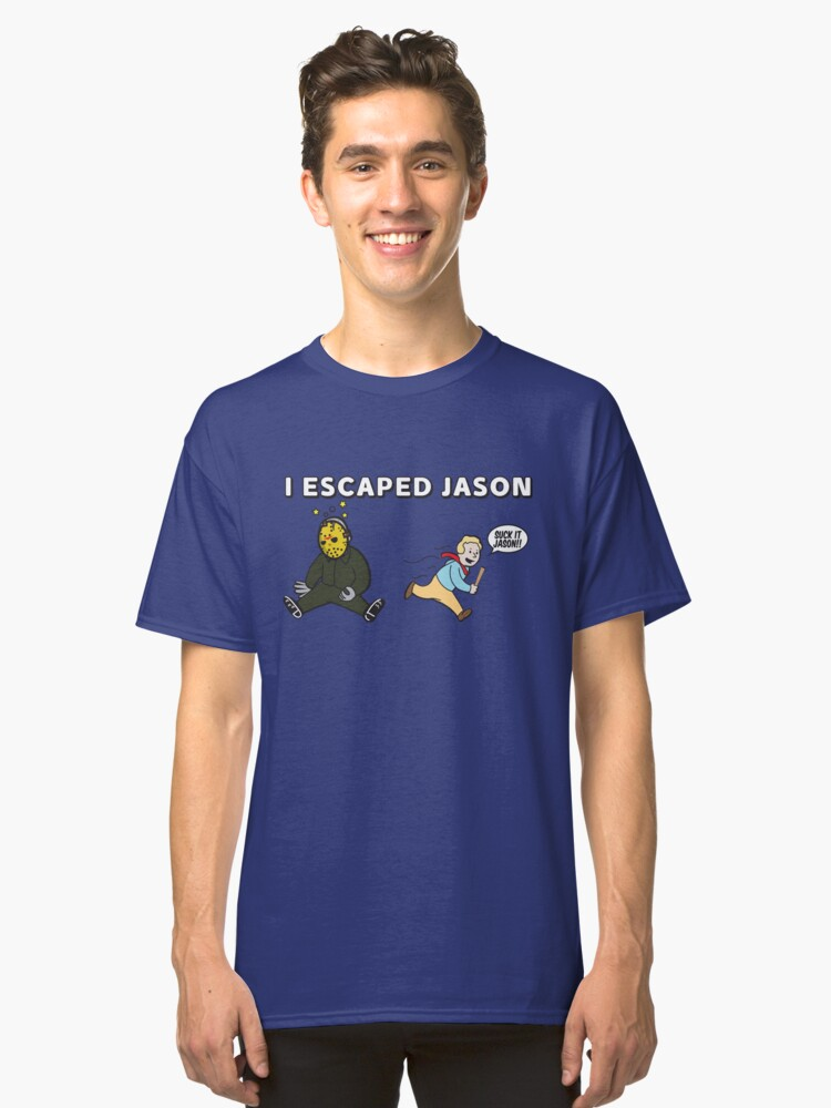 Escaping Jason Classic T-Shirt Front