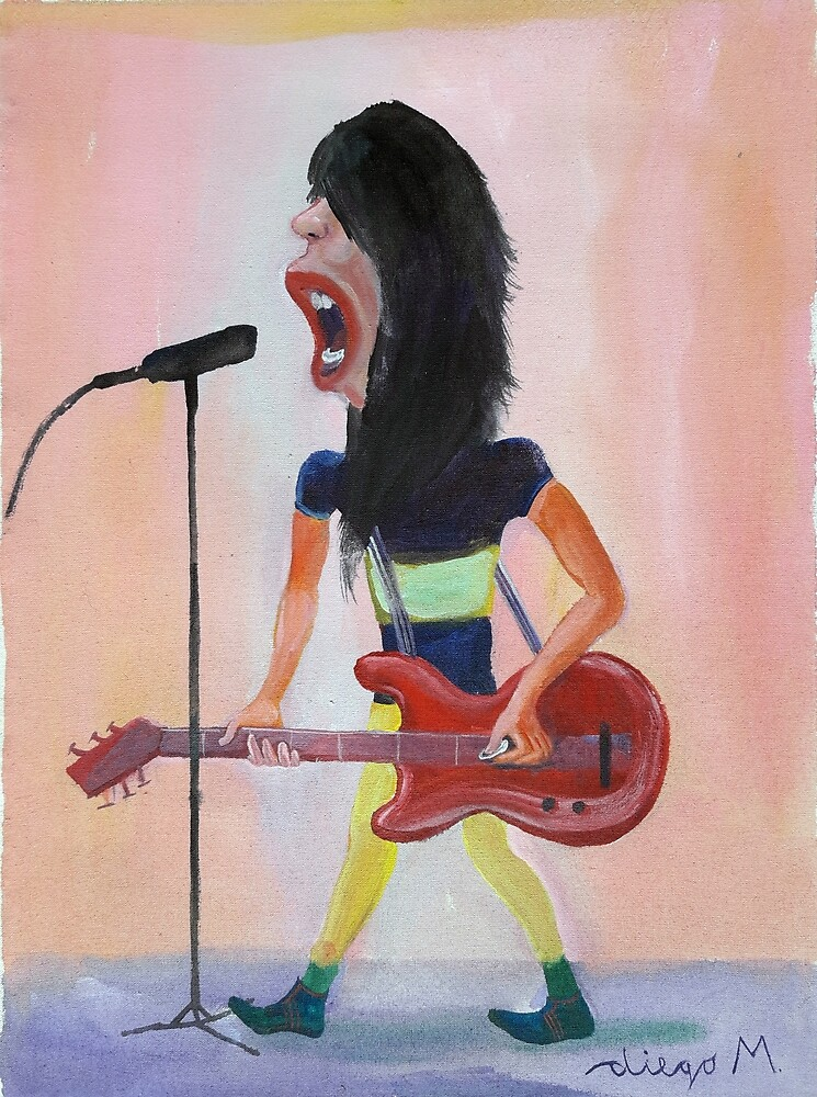 Rocker 4 by Diego Manuel Rodriguez
