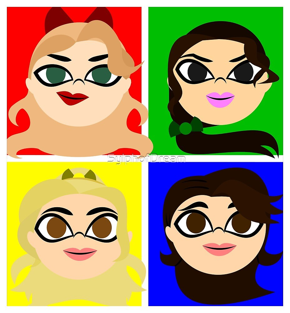 Heather,Heather,Heather and... Veronica by SylphofDream
