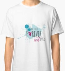 Cute Couple Together Forever T-shirts Classic T-Shirt