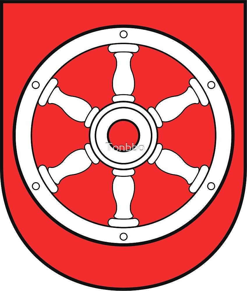 Erfurt coat of arms by Tonbbo