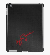 Ayrton Senna tribute iPad Case/Skin