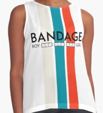 Bandage Boy and Girl Contrast Tank