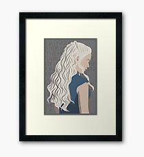 Daenerys Targaryen - Game of Thrones Framed Print