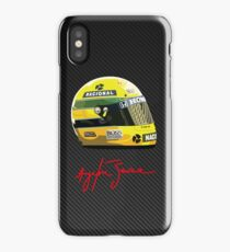 Ayrton Senna tribute 1 iPhone Case