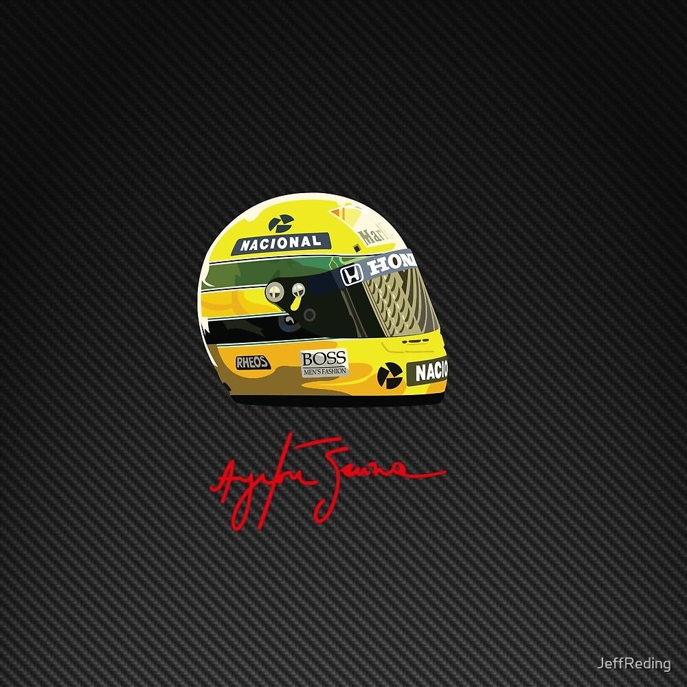 Ayrton Senna tribute 1 by Jeff Reding