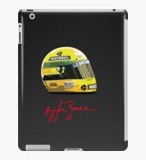 Ayrton Senna tribute 1 iPad Case/Skin