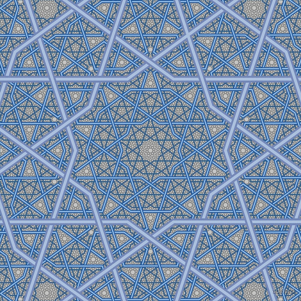 Four Layer Persian King Pattern by adelord