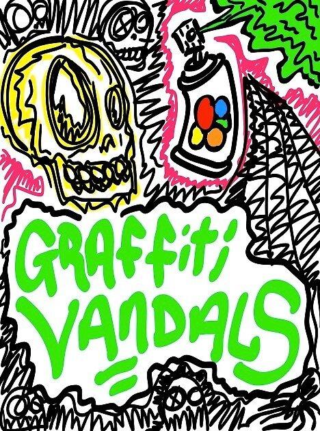 Graffiti Vandals by djzombie
