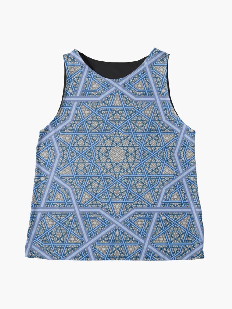 Alternative Ansicht von Vierschichtiges persisches König-Muster Ärmelloses Top