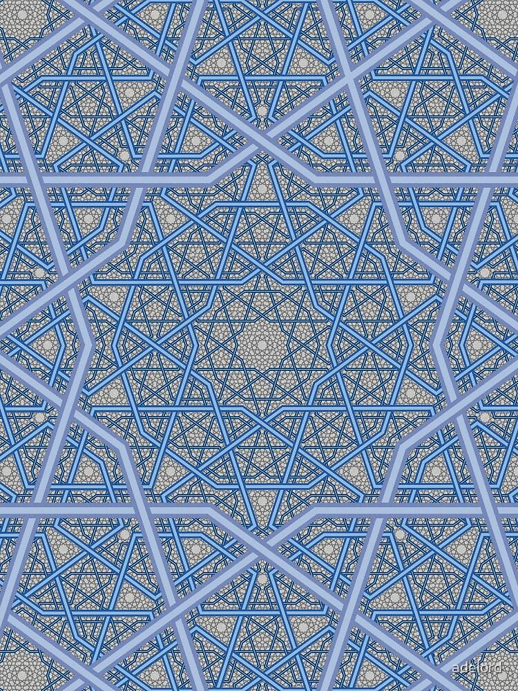 Vierschichtiges persisches König-Muster von adelord