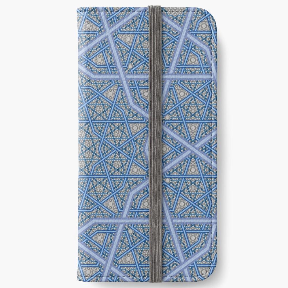 Vierschichtiges persisches König-Muster iPhone Flip-Case