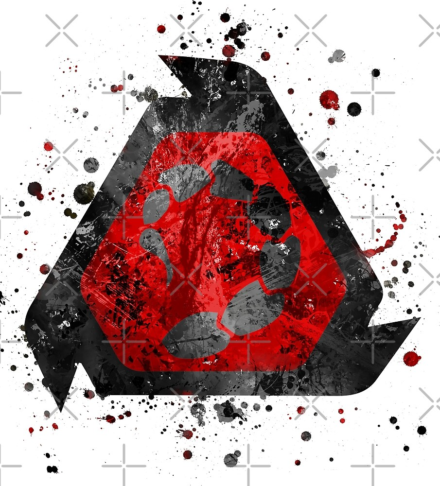Command and Conquer - NOD Splatter  by Jonathon Summers