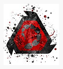 Command and Conquer - NOD Splatter  Photographic Print