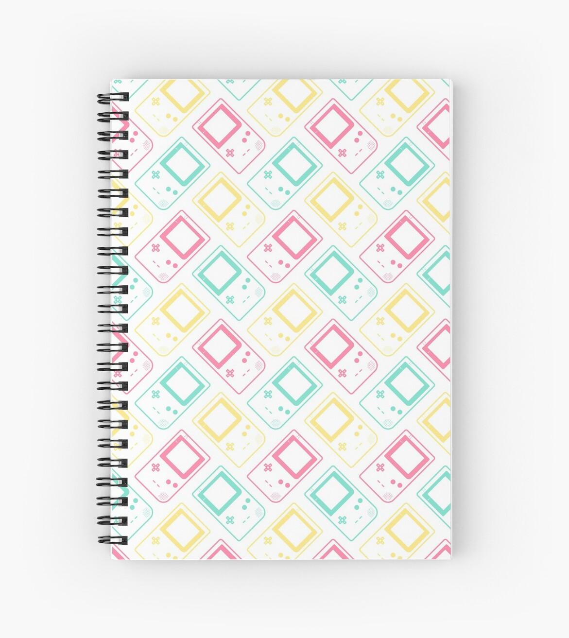 Gameboy Pocket Outlines Summer (white) by animinimal