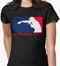 MAJOR LEAGUE LYRICIST Womens Fitted T-Shirt