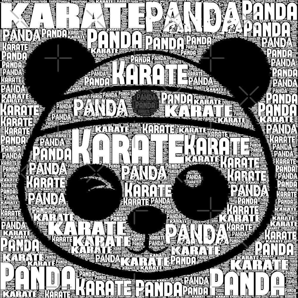 Karate Panda with type by karatepanda