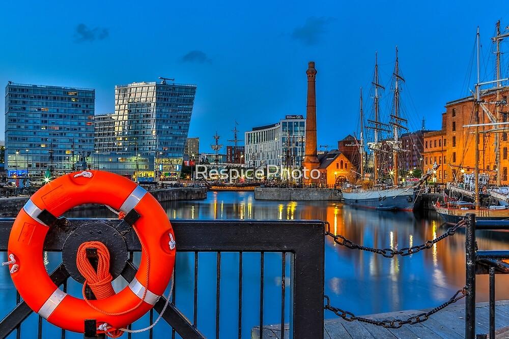 Albert Dock, Liverpool by RespicePhoto