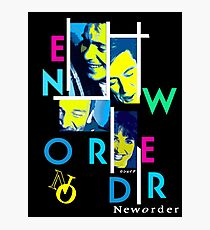 Joy Division New Order shirt Out of Order Photographic Print