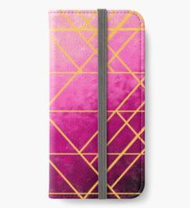 Gold Lines iPhone Wallet/Case/Skin