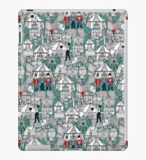retro circus iPad Case/Skin