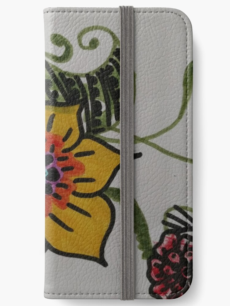 Flower phone case by pan-emo-chick