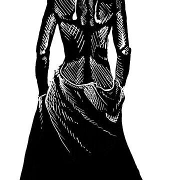 The Woman by bdesantisart