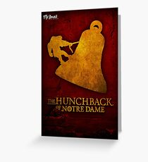 The Hunchback of Notre Dame - Merchandise Greeting Card