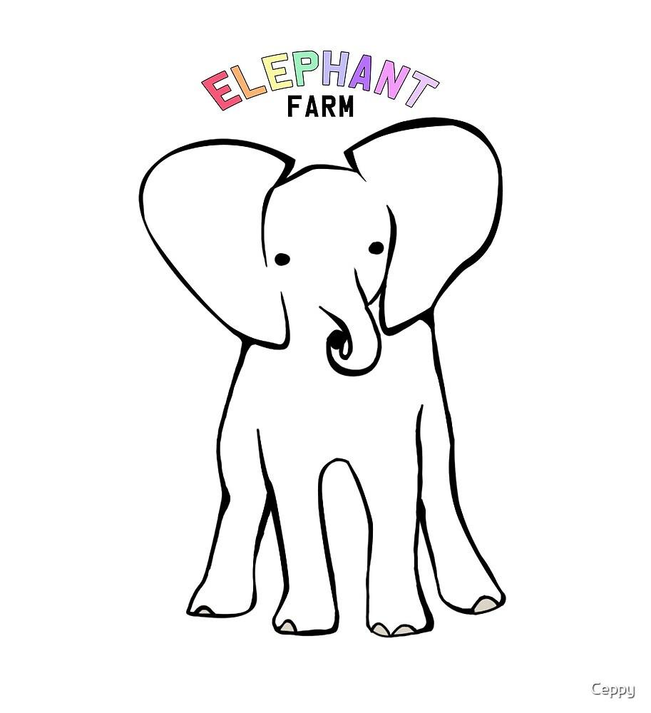 Elephant Farm by Ceppy
