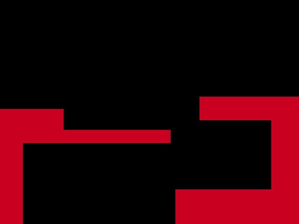 black red by djzombie