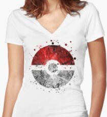 Pokemon (Lite) Women's Fitted V-Neck T-Shirt