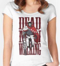 Graves Dead Man Walking Women's Fitted Scoop T-Shirt