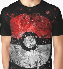 Pokemon Splatter Graphic T-Shirt