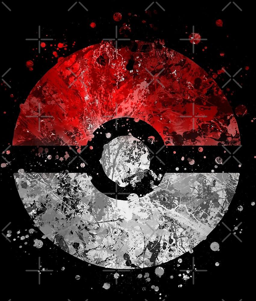 Pokemon Splatter by Jonathon Summers