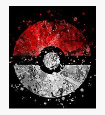 Pokemon Splatter Photographic Print