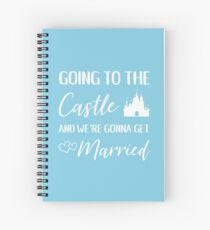 Going to the Castle Spiral Notebook