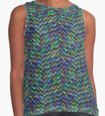 Mother of Dragons Rainbow Scales Contrast Tank