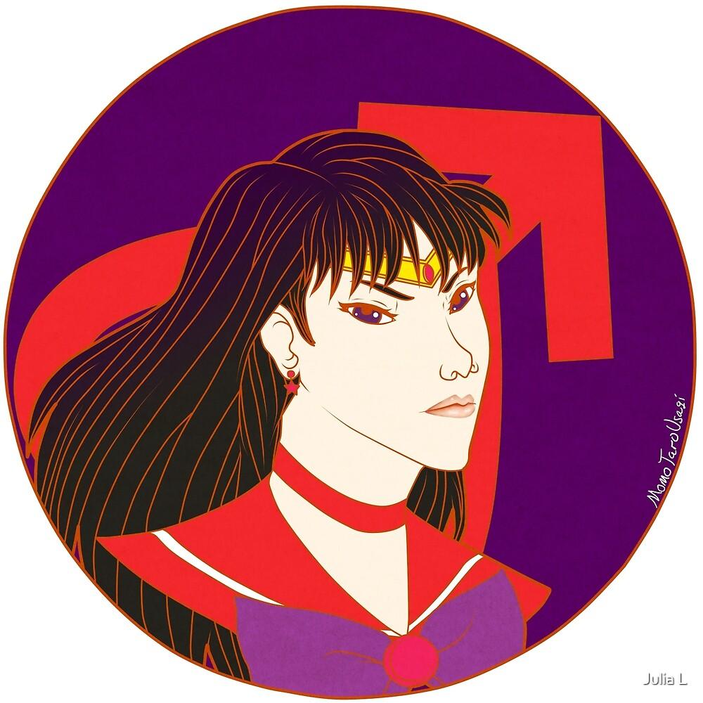 Sailor Mars by MomoTaroUsagi