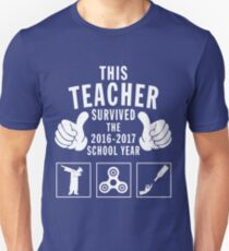 This Teacher Survived The 2016-2017 School Year Unisex T-Shirt