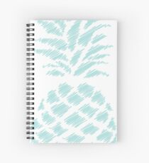 texture pineapple 2 Spiral Notebook