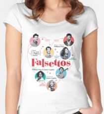 Falsettos 2016 Poster Women's Fitted Scoop T-Shirt