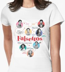 Falsettos 2016 Poster Women's Fitted T-Shirt
