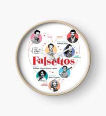 Reloj Cartel de Falsettos 2016