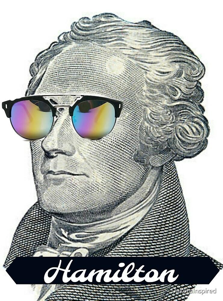 Alexander Hamilton in Shades by DakotaInspired