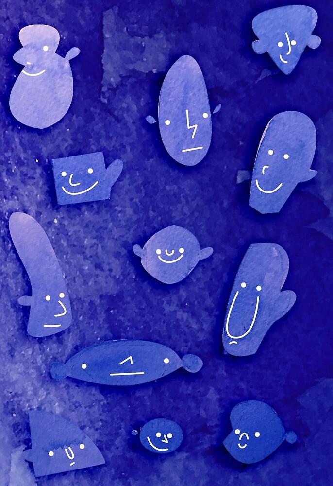 the blue boys by lradartwork