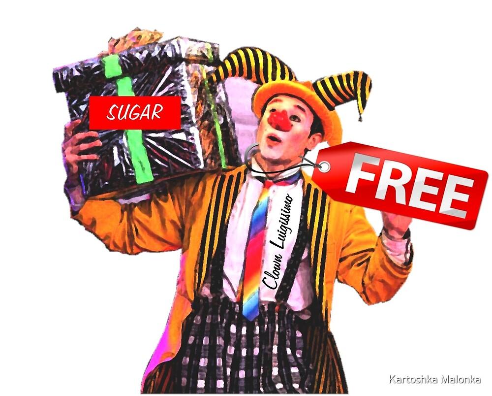 Sugar Free Clown by Luigissimo