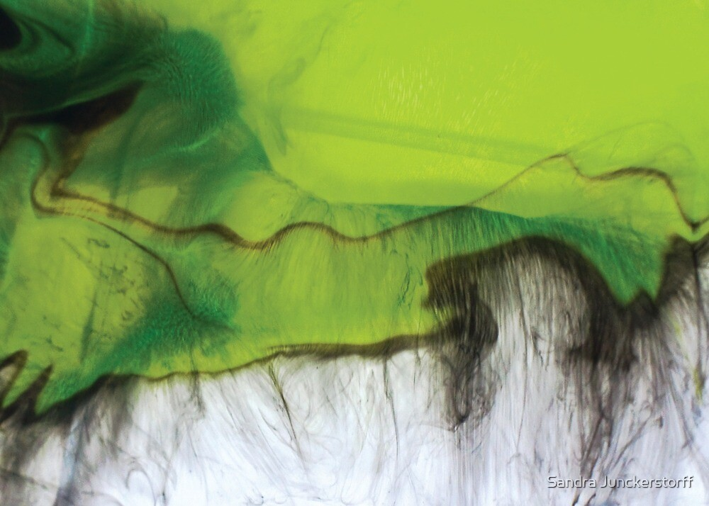 Melting green moments in life by Sandra Junckerstorff