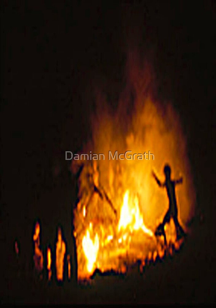 Dancers With Fire by Damian McGrath