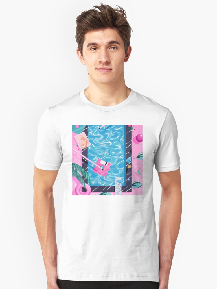 Pool party Unisex T-Shirt Front