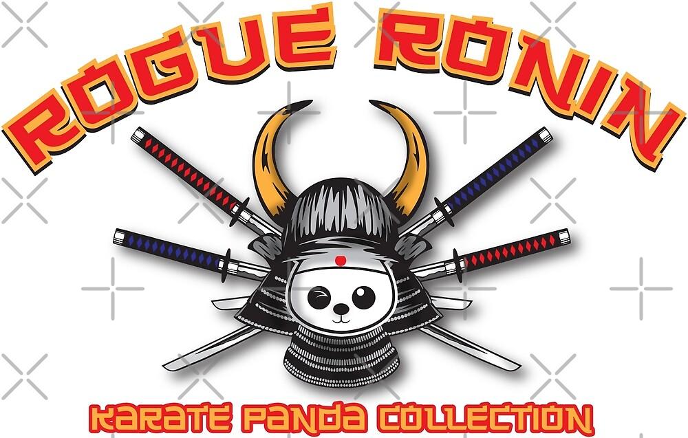 Karate Panda Rogue Ronin Collection by karatepanda